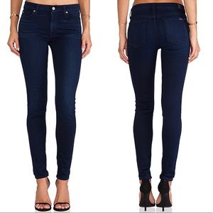 7 For All Mankind Mid Rise Skinny Jean